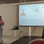 Toni Cañete en el Congreso internacional de investigación en salud